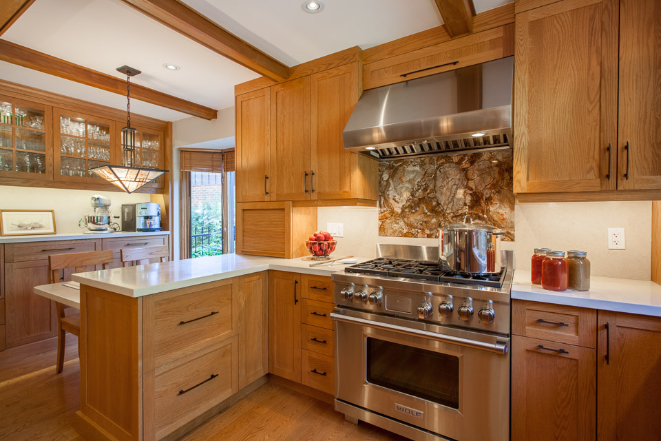 Traditional style kitchen remodeling toronto davisville for Autumn shaker kitchen cabinets